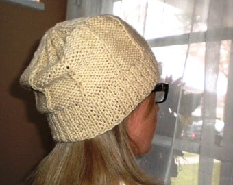 Knit HAT PATTERN - Buttercup