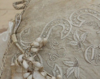 Antique Wax and Linen Communion Crown French STUNNING Could be Used for Wedding