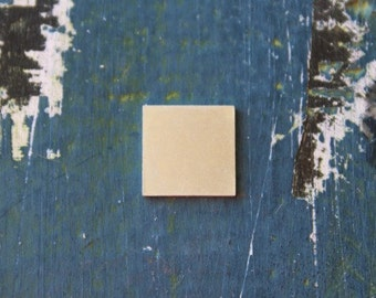 "Aluminum Square Stamping Blank - 1/2"" Metal Stamping Blank - 20 Gauge - Pack of 10 - Jewelry Metal Stamping Blank - SGAD124100"