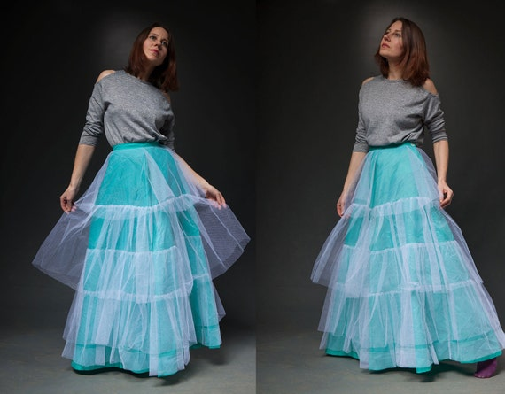 how to make a full length petticoat