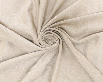 Ivory Stretch Suede Fabric by the yard - 1 Yard Style 598
