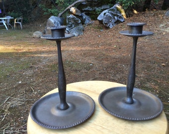 Cool old candlestick holders