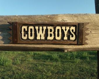 Cowboys and Cowgirls signs Restoom signs. western restoom signs