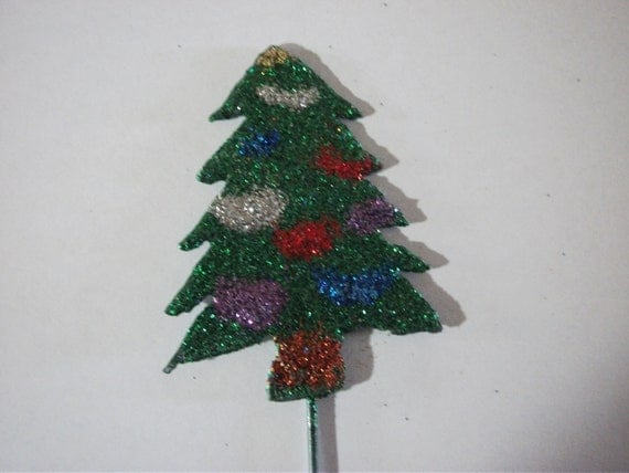 Christmas Tree Rustic Garden/houseplant Stake By