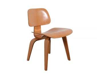Eames DCW Chair Herman Miller Molded Plywood Chair