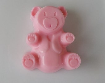 Baby Shower Soap Favors - Pink Teddy Bear Soap Favors