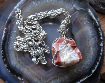 Crystal Agate Necklace-18in