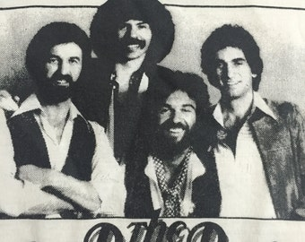 Oak Ridge Boys Purdue University Concert T Shirt 1980's