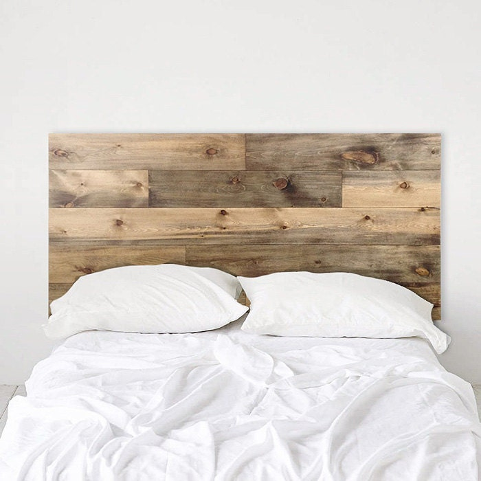Weathered Barn Wood Rustic Headboard Ol Plank