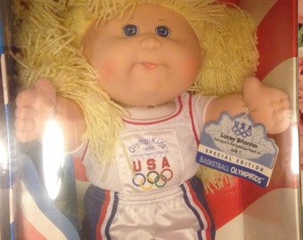 Collectible Cabbage Patch Olympic Mascot Doll