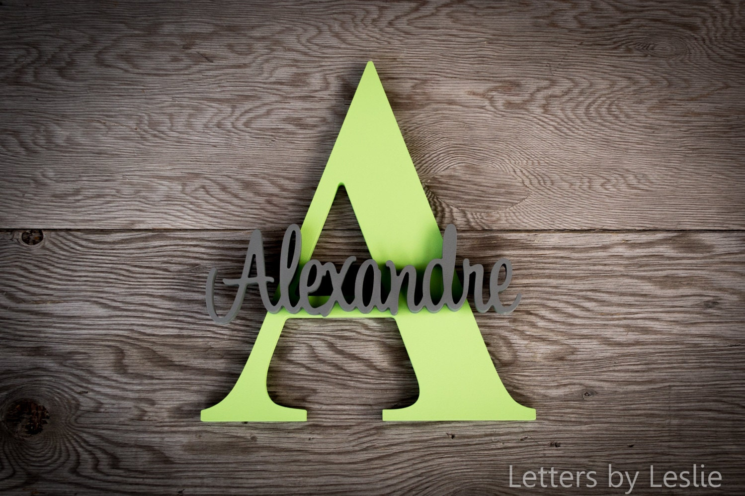 Wood Name Wall Decor : Custom nursery wall decor wooden name sign