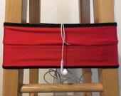 running belt  - fits 36-38 in -  fanny pack. phone holder. runner gift. ready to ship.