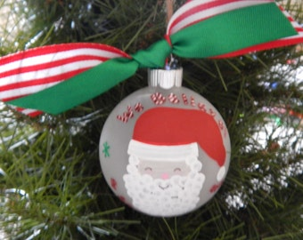 We Believe-Personalized Family Ornament,Santa,Family,Names