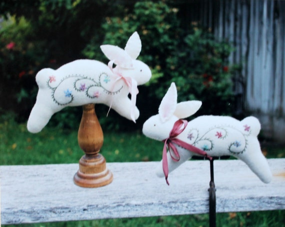 Cottontail Pincushion Pattern From Under The Garden Moon