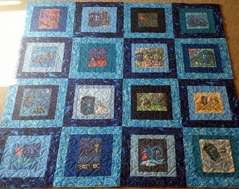 Made to Order--- One of a kind Doctor and the Damsels Karen Hallion Quilt