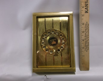 Address Book Vintage Rotary Phone Number Book  - DIAL A NAME - Never Used New Old Stock Hong Kong.epsteam