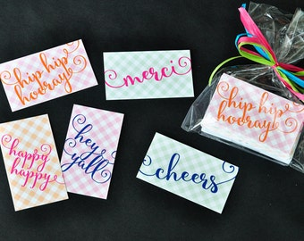 Mixed Set (25) Every Occasion Gift Tags with Envelopes