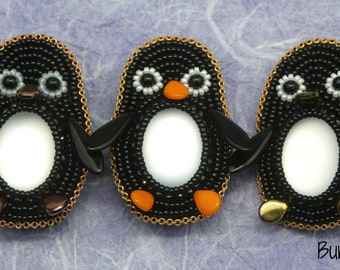 Little Penguin Brooch Kit and Tutorial