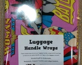 Luggage Handle Wraps (1 Pair)  Chose from Comic & Sci Fi