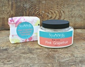 Grapefruit Gift Set, Organic Lotion and Soap Set, Essential Oil Gift Set, Soy Free, Palm Free, Paraben Free, Pampering Gift Set for Her