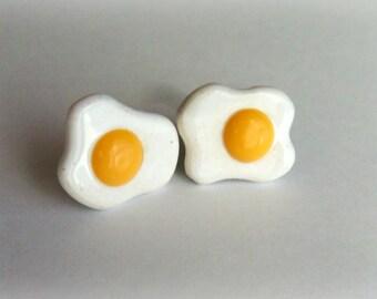 Fried Egg Stud Earrings