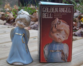 Vintage 1979 Golden Angel Bell Taiwan