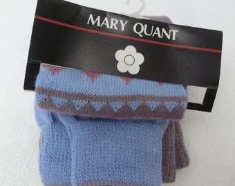Vintage leg warmers boot socks womens gift 80s mary quant accessory hippie festival gift teens leg warmers womens socks blue brown urban 80s
