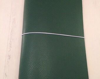ClassicJot - Evergreen - Leather Traveler's Notebook/Fauxdori