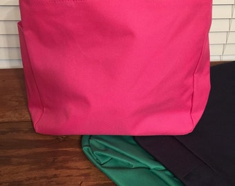 Monogram Tote Bag/Bridesmaid Gift/Teacher Gift/Beach Bag