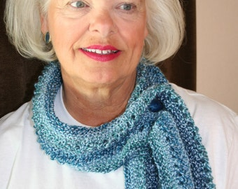 Knitting Pattern for The Bodega Bay Scarf