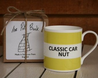 Classic Car Nut Fine Bone China Mug