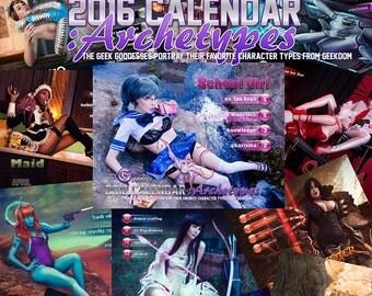 2016 GeekGoddess Calendar
