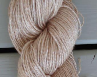 UNDYED 70/30 Silk/Camel Natural Yarn  by Elitespun/Amtex