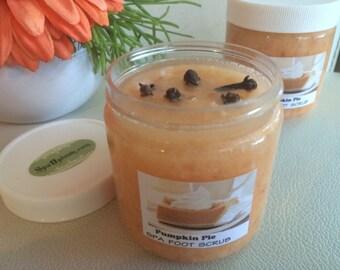 Pumpkin Pie-Dead Sea, Himalayan Salt, SPA Care Foot Scrub- SPA Uptown  4fl oz