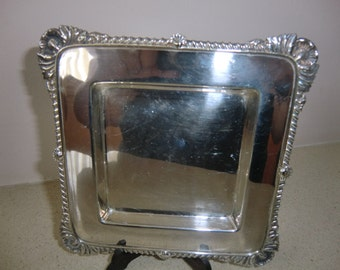 Vintage Silver Plated Entree dish/Tray