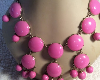Couture bubble necklace 24-26 in