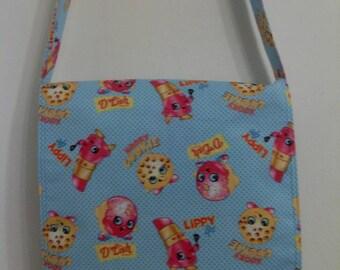 Shopkins Friends, Inspired Child Size Messenger, Cross Body Bag