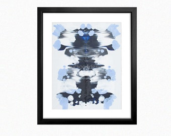Symmetry Painting, Abstract Art, Print Your Own, Instant Art, Digital Download,