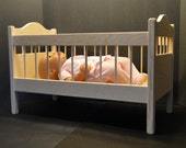 Crib for up to 18 inch Dolls (0144)