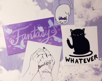 fun sticker pack - Lovestruck prints