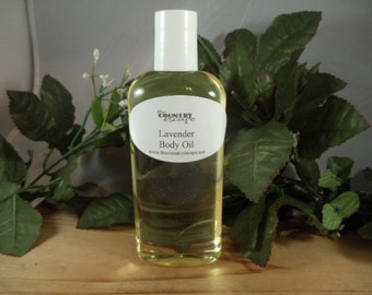 Organic Body Oil - Moisturizing Skincare - Absorbs Quickly - All Natural and Vegan