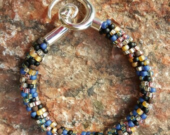 Sophia Kumihimo Beaded Bracelet