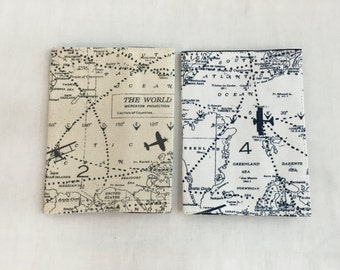 World Map Passport Cover, Passpoet Holder, Passport Protector, Passport Case