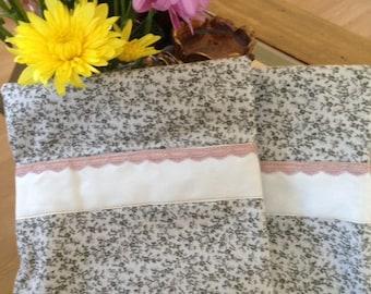 Handmade one of a kind pillowcases