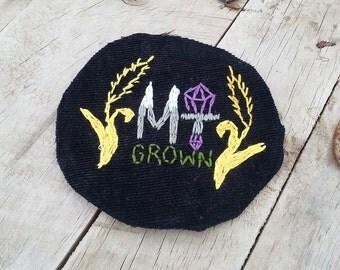 Montana Grown Patch OOAK