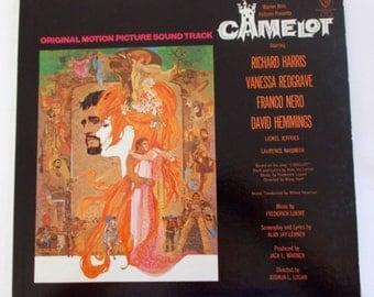 Camelot Soundtrack Vinyl LP Record BS 1712