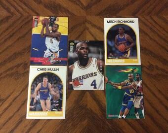 25 Golden State Warriors Basketball Cards