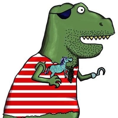 Piratesaurous Rex