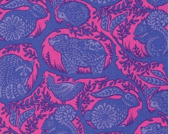 Grandstand in Blue Raspberry from Slow and Steady by Tula Pink