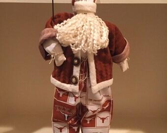 Texas Longhorns Santa